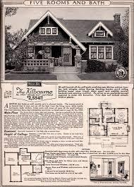 craftsman cottage floor plans 5 craftsman cottage sears home plans strikingly design ideas
