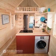 tumbleweed homes interior top laundry units for tiny homes tumbleweed houses