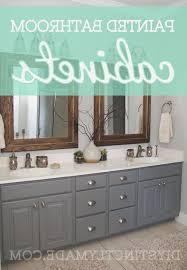 Painting Bathroom Cabinets Ideas by Best 25 Painting Bathroom Cabinets Ideas On Pinterest Paint