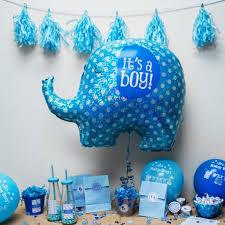 it u0027s a boy blue elephant baby shower party 32