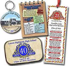ideas for class reunions ideas for class reunion favors personalized bookmarks notebooks