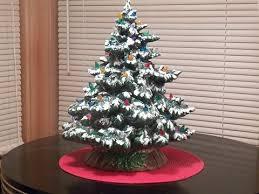 ceramic light up christmas tree frazier ceramic lighted christmas tree ceramics