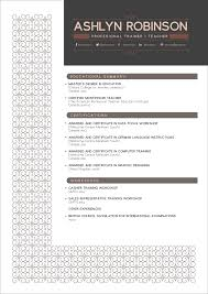 Free Resume Com Templates Free Resume Cv Design Template For Trainers U0026 Teachers Good Resume