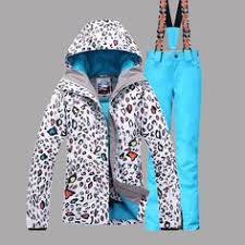 2017 winter ski suit with zipper thermal comfort breathable