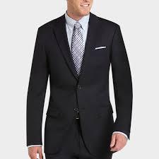 100 wool navy slim fit suit men s suits tommy hilfiger