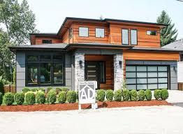 prairie house plans modern prairie house plan with tri level living 23694jd