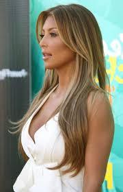 highlights for latina hair dark blonde haar with caramel highlights ac ca dark foto von cesaro