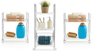 Bathroom Storage Cart Bed Bath Beyond Rolling Storage Cart Only 4 50 More Hip2save