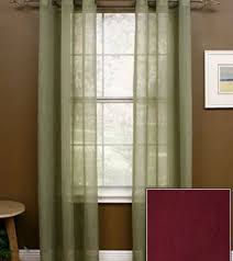 Olive Colored Curtains Miller Curtains Sheer Preston Grommet Window Panel 48