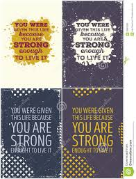 vintage quote backgrounds set of vintage typographic poster motivational quotes stock