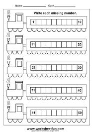 missing numbers 1 50 6 worksheets printable worksheets