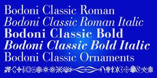 bodoni classic webfont desktop font myfonts