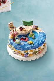 beach cake recipe womansday com