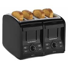 4slice Toasters Hamilton Beach Perfecttoast 4 Slice Toaster 24121