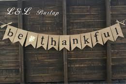 burlap thanksgiving banner discount burlap garland 2017 burlap garland on sale at dhgate
