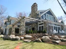 lake cottage exterior ideas entrancing lake cabin plans designs