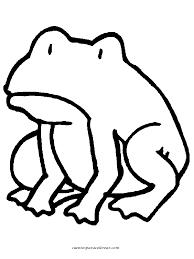 imagenes de un sapo para dibujar faciles dibujos para colorear ranas