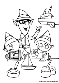 red nosed reindeer coloring picture