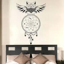wall ideas owl wall art amazon aliexpresscom buy dream catcher