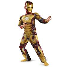Boys Kids Halloween Costumes Aliexpress Buy Genuine Kids Avengers Iron Man Mark 42