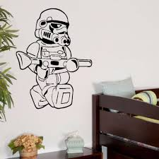 online get cheap lego decor aliexpress com alibaba group large star wars lego men storm trooper for children kids bedroom wall art sticker vinyl self adhesive transfer decal home decor