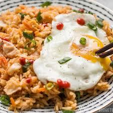 rice cuisine kimchi fried rice เมน ข าวผ ดก มจ อาหารเกาหล ทำง ายได ท บ าน