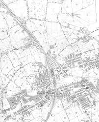Old Map Of Suffolk County Genuki Colne Lancashire