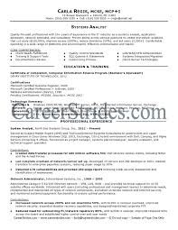 Program Analyst Resume Samples by Business Analyst System Analyst Resume Samples Crm Business