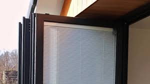Patio Door Internal Blinds Discover Bi Fold Door Blinds Fitted Between Glass Youtube