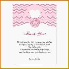 bridal shower thank you cards bridal shower thank you wording blue bridal shower thank