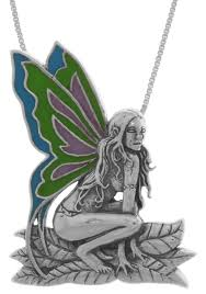 fairy pendant necklace images Jewelry trends sterling silver enameled butterfly wing rain fairy jpg