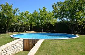 Backyard Little House Joucas Provence Holiday Rental Cottage With Pool The Little