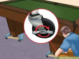 How To Refelt A Pool Table 3 Ways To Move A Pool Table Wikihow