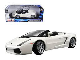 lamborghini gallardo spyder white diecast model cars wholesale toys dropshipper drop shipping