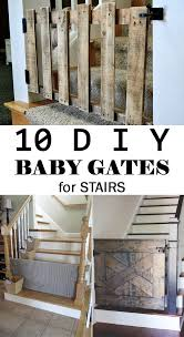 Best Stair Gate For Banisters Diy Baby Gates For Stairs