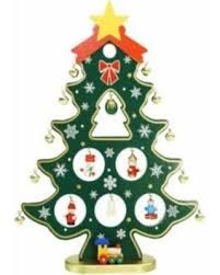 bargains on 11 25 wooden tree cut out with miniature