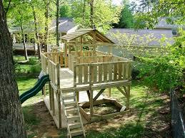 Natural Playground Ideas Backyard Backyard Playground Equipment Canada Thunder Ridge Wooden Swing