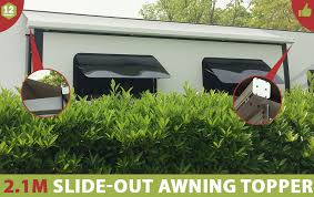 Rv Slide Out Awning Reviews 2 1m Werada Rv Caravan Slide Out Awning Topper