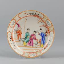 mandarin porcelain antique 18th c mandarin porcelain qing famille