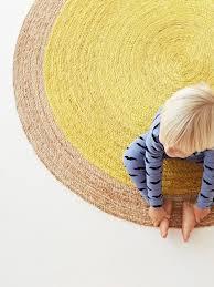 Yellow Circle Rug Armadillo U0026 Co Pinwheel Braid Weave Rug Yellow I Antipodream