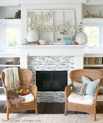 thanksgiving mantel decor the lilypad cottage
