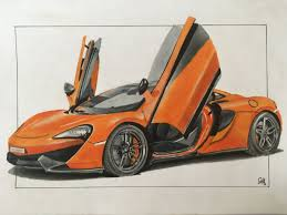 mclaren p1 drawing easy toxic prime draw to drive