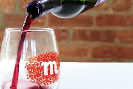 diy monogram wine glasses diy how to make monogrammed wine glasses simplemost