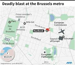 Brussels Metro Map by At Least 20 Killed In Brussels Subway Blast 55 Injured 10 In