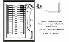 led surge protection and power filtering