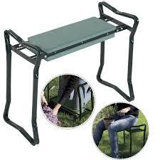 Folding Cushions Amazon Com Goplus Folding Sturdy Garden Kneeler Gardener
