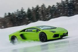Lamborghini Veneno Drifting - gallery lamborghini winter academy in hokkaido japan gtspirit