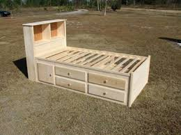 How To Build A Platform Bed Frame With Drawers by Bedroom Amazing Ana White Farmhouse Storage Bed With Drawers Diy