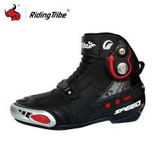buy motorcycle boots compare prices on mens motorcycle racing boots online shopping