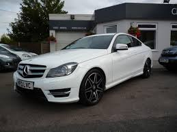 used mercedes c class for sale in uk used 2013 mercedes c class c220 cdi blueefficiency amg sport